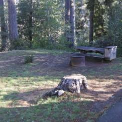 Woodside campground, Salt Rock Point