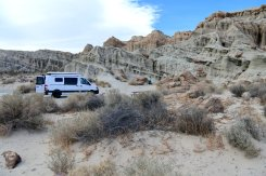 Ricardo campground, Red Rock Canyon
