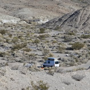 Mesquite Springs campground, Death Valley
