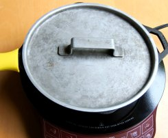 Close lid and steam