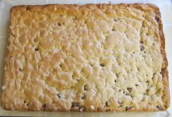 Bake until golden brown (17-20 min)
