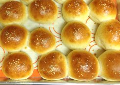 Light Brioche rolls