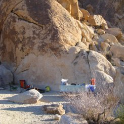 Indian Cove campground, Joshua Tree