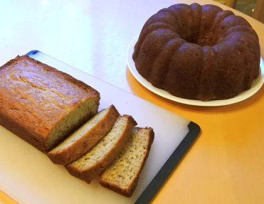 Let bundt banana bread cool completely