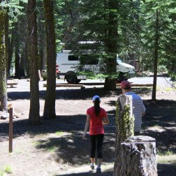 Manzanita Lake campground, Lassen