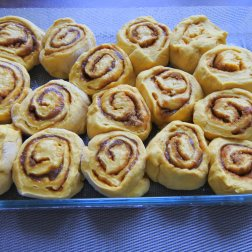 Cut into slices and place them in baking dish