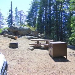 Sunset campground, Sequoia