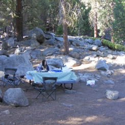 Lodgepole campground, Kings Canyon