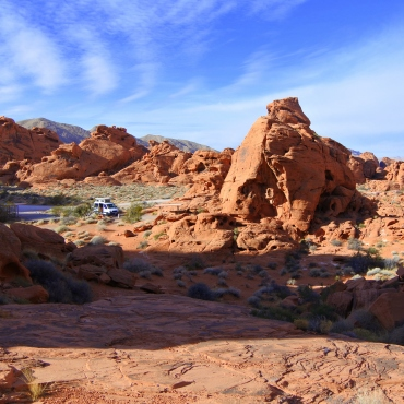 Atlatl campground, Valley of Fire